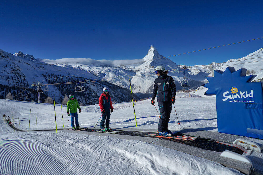 ski lessons for beginners in Zermatt, Swiss