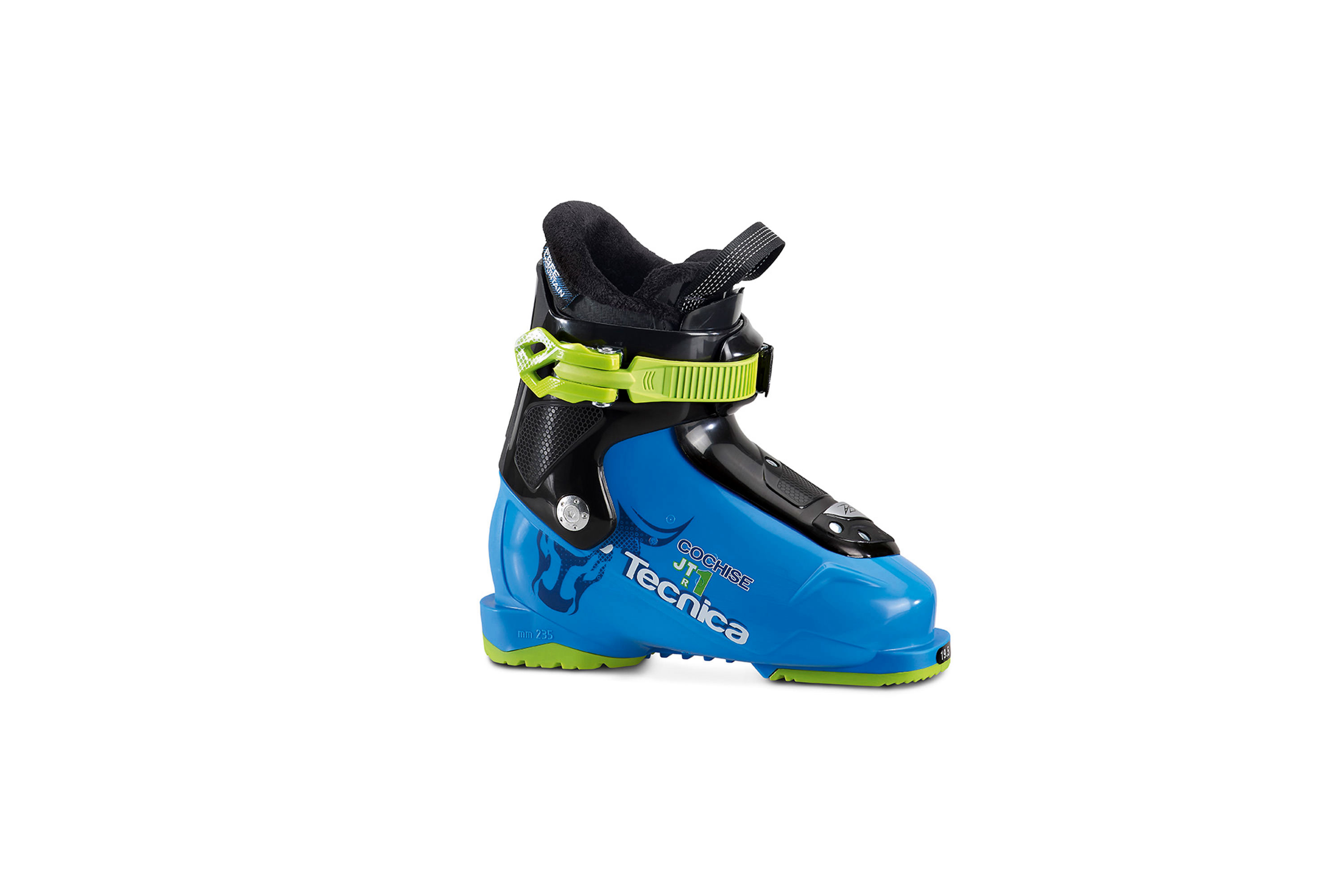junior and kids ski boots for rent in Stoked snowsports shop